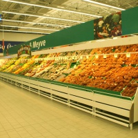Стелажи за плод и зеленчук